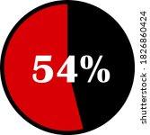 circle percentage diagrams... | Shutterstock .eps vector #1826860424