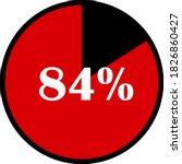 circle percentage diagrams... | Shutterstock .eps vector #1826860427