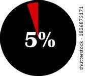 circle percentage diagrams... | Shutterstock .eps vector #1826873171