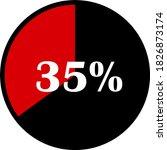 circle percentage diagrams... | Shutterstock .eps vector #1826873174