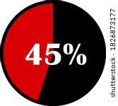 circle percentage diagrams... | Shutterstock .eps vector #1826873177