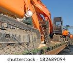 vladivostok commercial port  12 ... | Shutterstock . vector #182689094