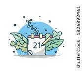 calendar vector illustration....