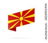 macedonia flag state symbol...