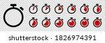 timer  clock  stopwatch...   Shutterstock .eps vector #1826974391