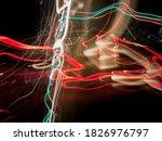 Light Painting Created Through...