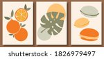 collection of contemporary art... | Shutterstock .eps vector #1826979497