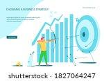 landing webpage template of...   Shutterstock .eps vector #1827064247