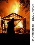 Shed Fire Extends To Main House ...