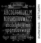 vector set with hand written...   Shutterstock .eps vector #182716094