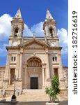 santi medici church in... | Shutterstock . vector #182716619