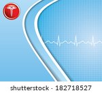 abstract medical background | Shutterstock . vector #182718527