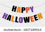 Happy Halloween Bunting Flags...