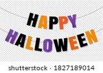 Happy Halloween Bunting Flags...