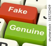 Fake Genuine Keys Meaning...