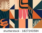 modern abstract exotic... | Shutterstock .eps vector #1827243584