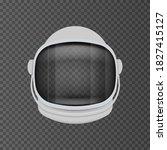 astronaut helmet equipment...   Shutterstock .eps vector #1827415127
