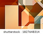 overlapping design with... | Shutterstock . vector #1827648314