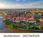 Aerial Panoramic View Of Polish ...
