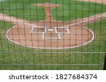 Homeplate At A Baseball Game