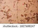 Old Wall With Peeling Layers Of ...