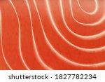 salmon fish steak  fish raw... | Shutterstock .eps vector #1827782234