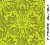embossed light green seamless... | Shutterstock . vector #182778815
