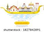 chonburi  thailand   october 5... | Shutterstock .eps vector #1827842891