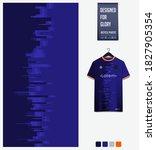 fabric pattern design. geometry ... | Shutterstock .eps vector #1827905354