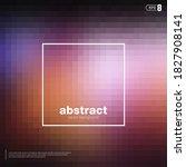 blur nebular mosaic vector...   Shutterstock .eps vector #1827908141