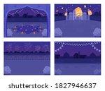 night hindu holiday celebration ... | Shutterstock .eps vector #1827946637
