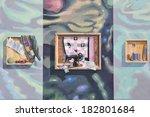 mont joli quebec canada august... | Shutterstock . vector #182801684