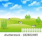 sky cow landscape
