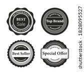 retro vintage badges and labels | Shutterstock .eps vector #1828095527