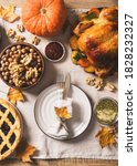 Fall Thanksgiving Table With...