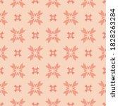 vector floral texture.... | Shutterstock .eps vector #1828263284
