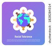 national tolerance thin line... | Shutterstock .eps vector #1828284314