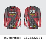 sport jersey abstract...   Shutterstock .eps vector #1828332371