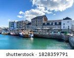 Barbican Marina In Plymouth...