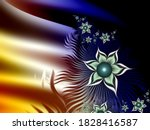Fractal Image  Multicolor...