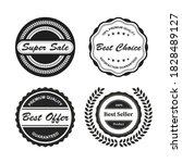 retro vintage badges and labels   Shutterstock .eps vector #1828489127