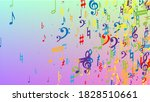 disco background. many random... | Shutterstock .eps vector #1828510661