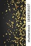 golden confetti falling on...   Shutterstock .eps vector #1828518107