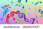 disco background. colorful...   Shutterstock .eps vector #1828519337