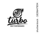 turbo performance auto logo... | Shutterstock .eps vector #1828647854
