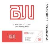 Initial Letter Bw Letter Logo...