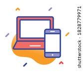 responsive design  responsive  ... | Shutterstock .eps vector #1828779971