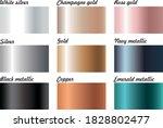metallic foil shiny illustrator ...   Shutterstock .eps vector #1828802477