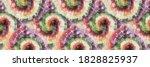 circle tie dye swirl. spiral... | Shutterstock .eps vector #1828825937