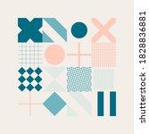 modern geometric abstract... | Shutterstock .eps vector #1828836881
